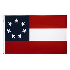 Stars and Bars Traditional Flag