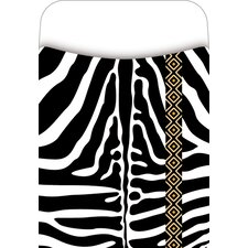 <strong>Barker Creek & Lasting Lessons</strong> Pick-a-pocket Library Pockets Zebra