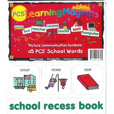 Pcs Learning Magnets School (Set of 45)