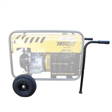 All Terrain 2 Wheel Industrial Dolly Kit for Portable Generators