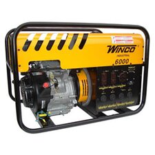 Industrial Series 6,000 Watt Recoil / Electric Start Portable Gas Generator