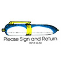 Stamp Please Sign & Return Pen