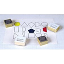 Stamp Set Plane Geometry (Set of 15)