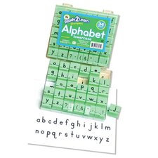 Manuscript Alphabet Stamp Set 1