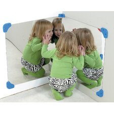 "24"" H x 24"" W Corner Mirror (Set of 2)"