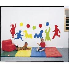 Playful Preschooler Wall Decal