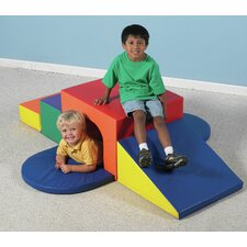 <strong>The Children's Factory</strong> 7 Peice Soft Tunnel Slide Set