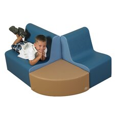 3 Piece Kids School Age Contour Seating Set