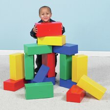 <strong>The Children's Factory</strong> Mega Block (Set of 16)