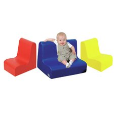 <strong>The Children's Factory</strong> Kids Little Tot Seating Set