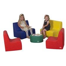 5 Piece Kids Tot Family Room Set