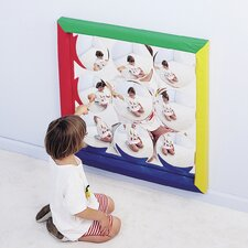 "34"" H x 34"" W Bubbles Mirror"
