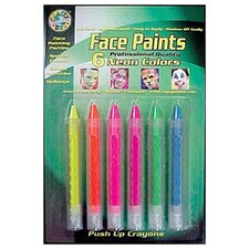 <strong>Crafty Dab</strong> Crafty Dab Push-up Face 6 Pk Paints