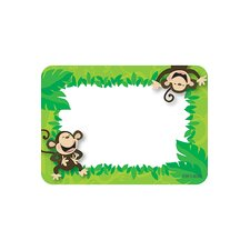 Monkey Business Name Tags