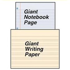 Chart Giant Notebook Page 22 X 28