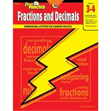 Fractions & Decimals 3-4 Math Power