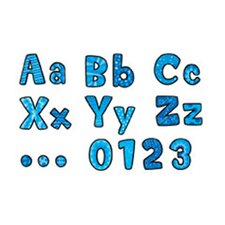 Designs In Blue Designer Letters