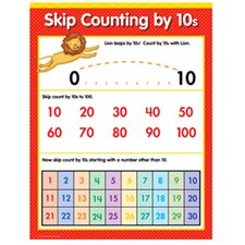 Skip Counting By 10s Math Sm Chart