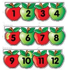Mini Bb Set Apples Number Line