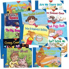<strong>Creative Teaching Press</strong> Reading For Fluency Readers Set 1