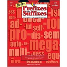 More Prefixes And Suffixes