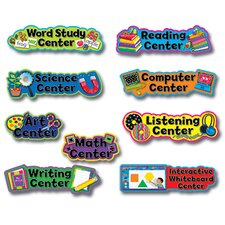 <strong>Creative Teaching Press</strong> Pp Learning Center Signs Mini Bb