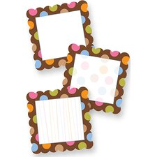 Dots On Chocolate Designer Cut Outs
