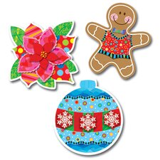 <strong>Creative Teaching Press</strong> Holiday Cheer Jumbo Cut Outs