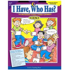 I Have Who Has Science Gr 3-5
