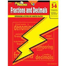 <strong>Creative Teaching Press</strong> Fractions & Decimals 5-6 Math Power