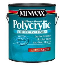 1 Gallon Polycrylic Protective Finishes 15555