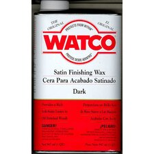 1 Quart Finishing Wax Natural Tone Satin Wood