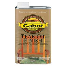 1 Quart Teak Oil Finish