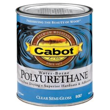 1 Quart Semi-Gloss Interior Water-Borne Polyurethane 144-8087 QT