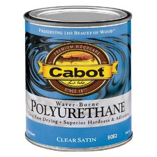 1 Quart Satin Interior Water-Borne Polyurethane 144-8082 QT
