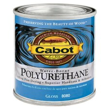 1 Quart Gloss Interior Water-Borne Polyurethane 144-8080 QT