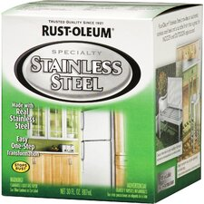 <strong>Rust-OleumSpecialty</strong> 1 Quart Stainless Steel Paint