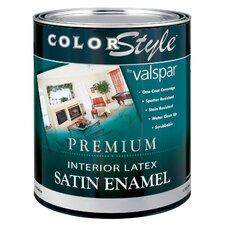 1 Quart Pastel Base ColorStyle® Interior Latex Enamel Wall Paint Satin
