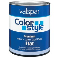 1 Quart Clear Base ColorStyle® Interior Latex Flat Wall Paint