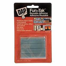 Fun-Tak Reusable Adhesive