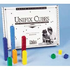Unifix Cubes 500 Assorted Colors