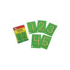 Tactile Sandpaper Numerals