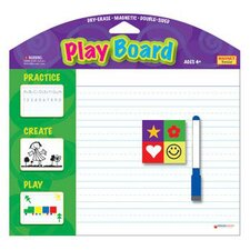 Magnetic Playboard W/ Dry Erase