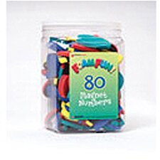 80 Foam Fun Magnet Numbers