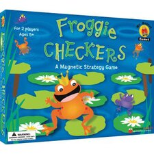 Mr Magnet Games Froggie Checkers