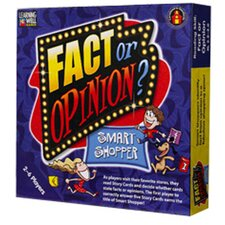 Fact Or Opinion Shopping Mall Blue