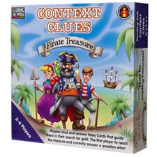 Context Clues Pirate Treasure Blue