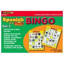 Spanish In A Flash Bingo Set 3