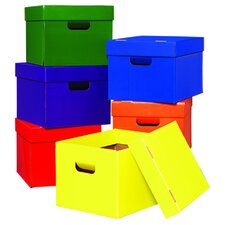 Tote/stow Boxes One Each Of Green