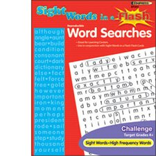Sight Word Searches Challenging